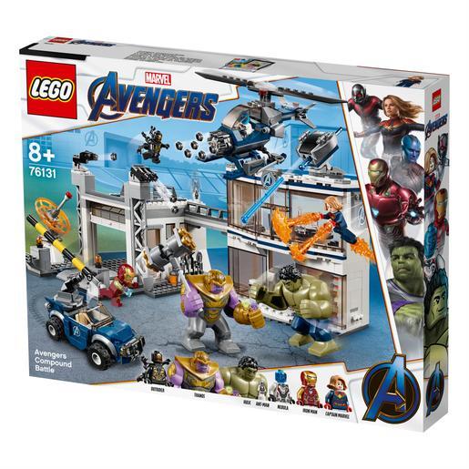 Lego Super Heróis O Combate No Quartel Dos Vingadores 76131 Lego Marvel Super Heroes Loja De Brinquedos E Videojogos Online Toysrus