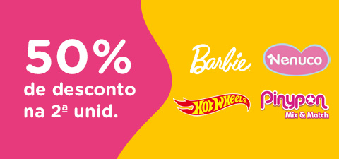 Descuentos en Barbie, Pinypon, Vtech, Hot Wheels, Nenuco y Play-Doh